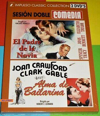 EL PADRE DE LA NOVIA + ALMA DE BAILARINA -DVD R2- Precintada