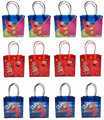 Elmo Bags (New Sesame street ELMO Birthday Party Favor Goody Gift candy Loot Bags)