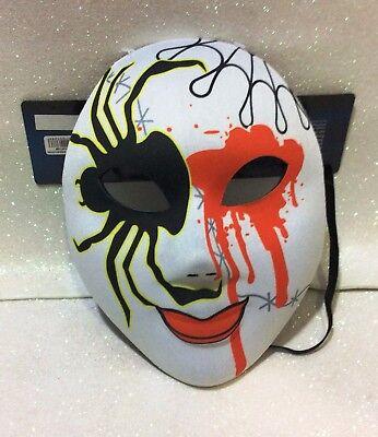 CARNEVALE HALLOWEEN MASCHERA SANTA MUERTE MASK MESSICANA MEXICO A - Santa Muerte Halloween Mask