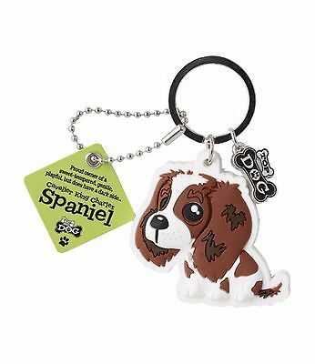 Cavalier King Charles Keyring Gift/Present Dog Key Ring Bag Charm Spaniel