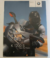Bmw K1200 S K 1200 S Catalogo Depliant Brochure Reclame Pubblicita Prospekt -  - ebay.it