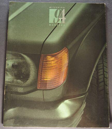 1994 Mitsubishi Montero Catalog Sales Brochure Excellent Original 94