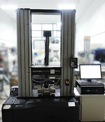 Instron 5582 100kn Universal Tensile Electromechanical Tester W Extensometer Pc