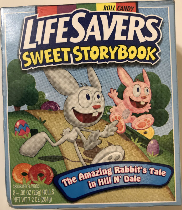 Life Savers Sweet Storybook,The Amazing Rabbit's Tale In Hill N' Dale 8 Rolls
