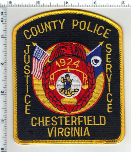 Chesterfield County Police (Virginia) 4th Issue Shoulder Patch