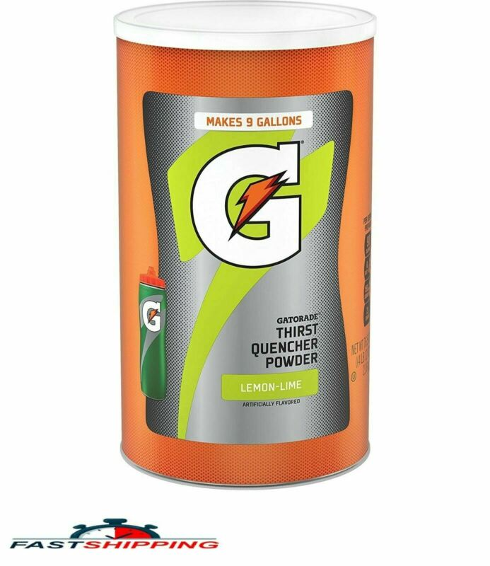 Gatorade Thirst Quencher Lemon Lime Drink Mix Powder  (Select Size)