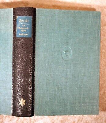Goethe=Die Welt-Goethe-Ausgabe der Gutenbergstadt Mainz und des Goethe- und ....