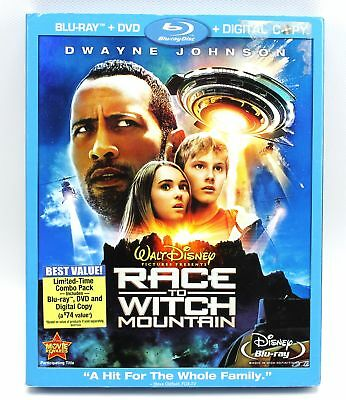 Walt Disney Race to Witch Mountain Blu-Ray DVD Set for sale  Shipping to India