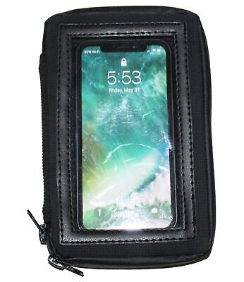 """8"""" MAGNETIC MOTORCYCLE FUEL TANK BAG GAS BAG CELL PHONE FITS IPHONE X MAX GALAXY"""