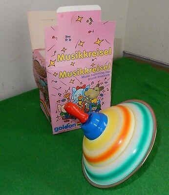 DDR Spielzeug ab 3 Jahre Musikkreisel Goldon Band OVP