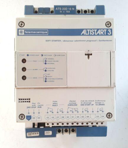 Telemechanique Altistart 3 Soft Starter ATS 23D 16N