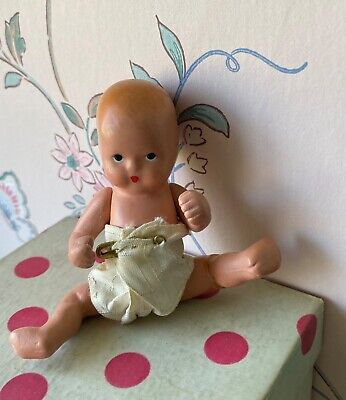 Nancy Ann Storybook Doll- 1 Baby with Diaper-bisque