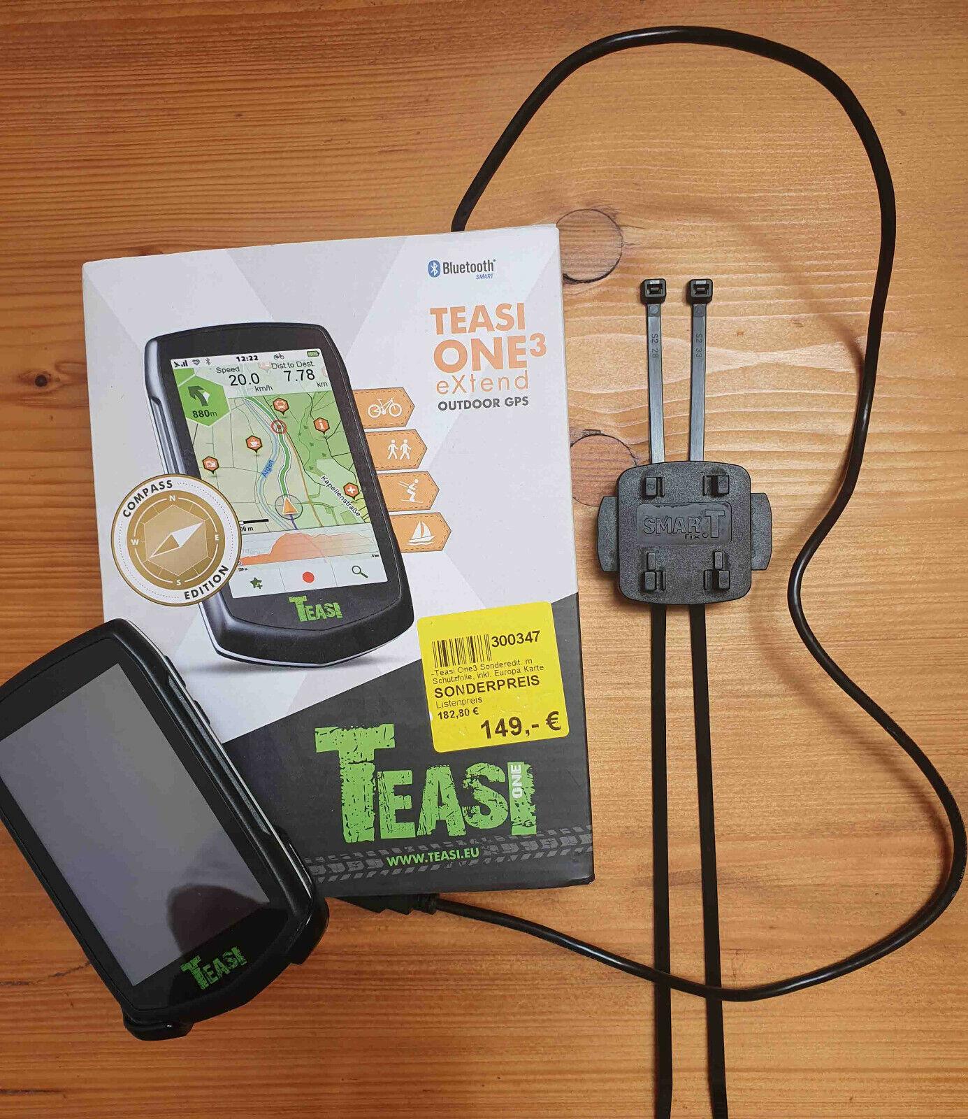 GPS Navigationsgerät TEASI ONE 3 extend neuwertig