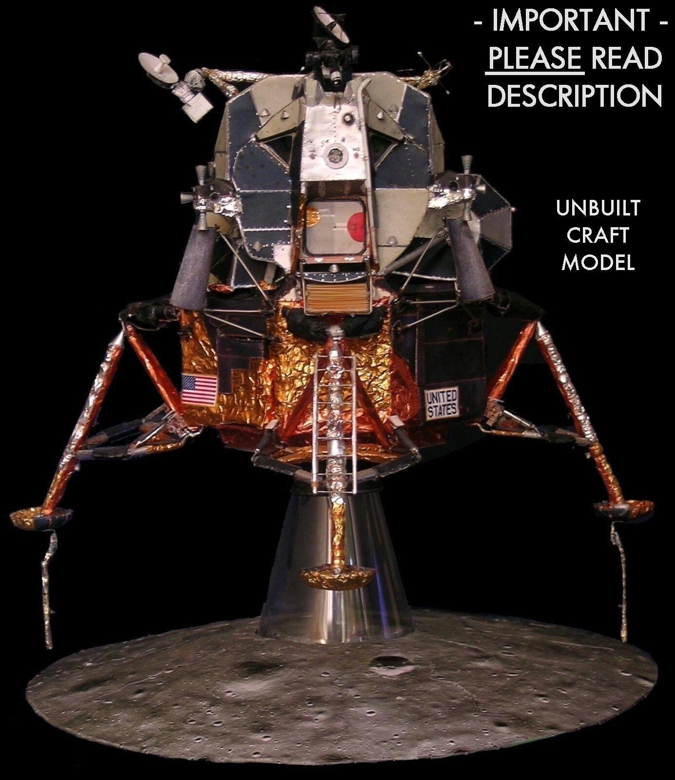 Apollo 11 Lunar Module LM-5 1:32 Craft Model FOR Revell Command Service CSM READ