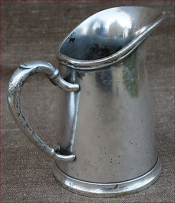 Advertising Milk Pot Silverplate La Veilleuse Bar Coffee Shop Paris France 1920