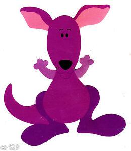 4quot blues clues blue nick jr kangaroo character prepasted