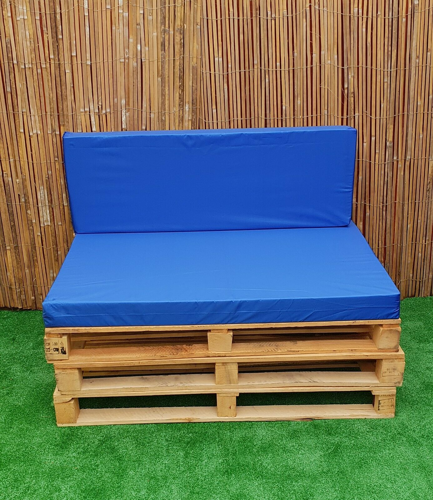 Garden Furniture - Kosipad Pallet Seating Bench Garden Furniture Foam Cushions Waterproof Covers