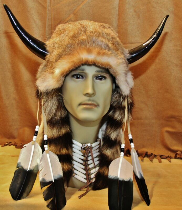 Imitation Native American Medicine Man Head (INH05)