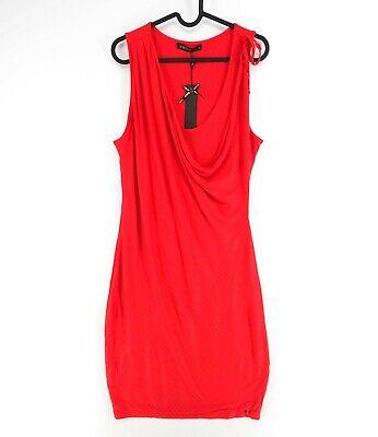 Supertrash Rojo Cuello Redondo Vestido Talla M