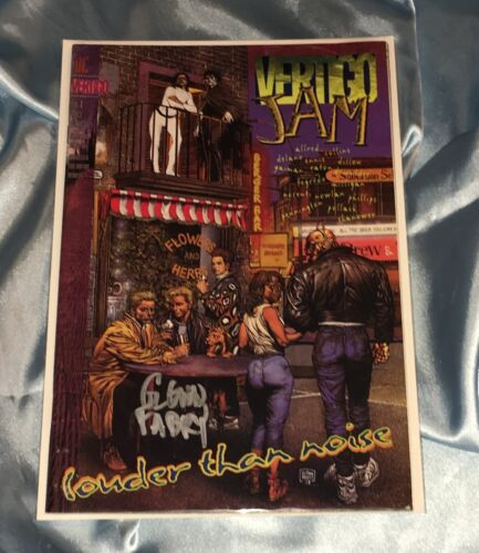 VERTIGO JAM LOUDER THAN NOISE #1~DC~HAND-SIGNED BY GLENN FABRY~PREACHER/AMC TV