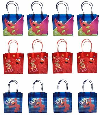 Elmo Bags (Elmo Goody Bag Party Goodie Gift Birthday Candy Bags)