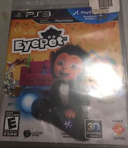 EYE PET for PS3 NEW NEVER OPENDED
