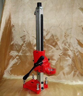 "NEW BLUEROCK® Model Z1S - 4"" Core Drill Stand - Concrete Coring"