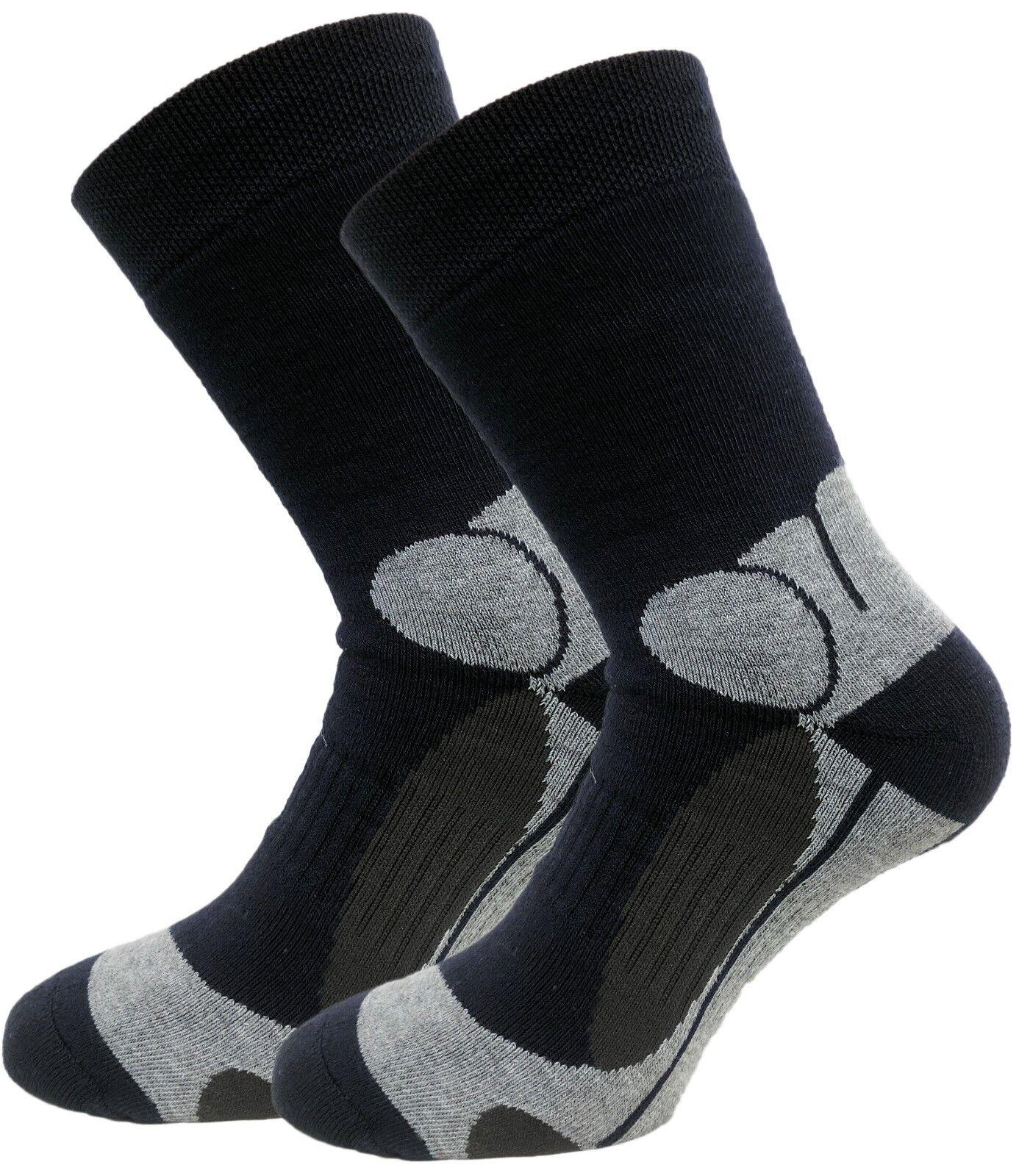 6x Thermo- Funktions-Socken - Wintersocken - Herren Ski- Sport Socken Frotteefuß