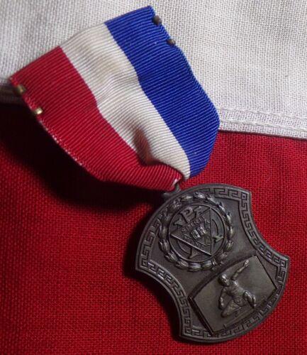 1922 YMCA JR. HEXATHLON MEDAL MIND BODY SPIRIT