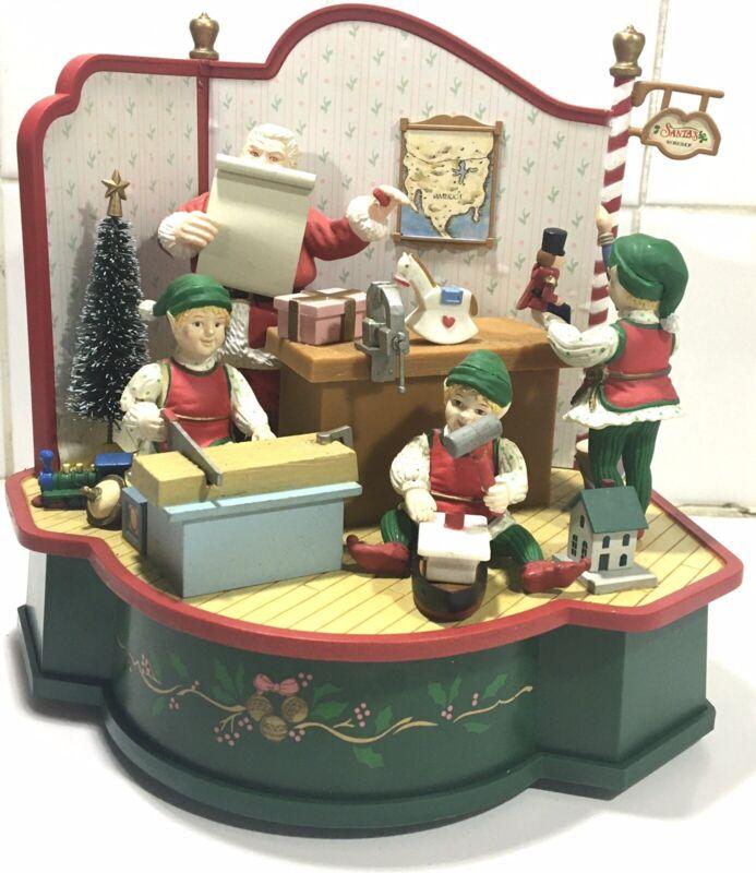 Christmas Expressions Animated Musical Santa