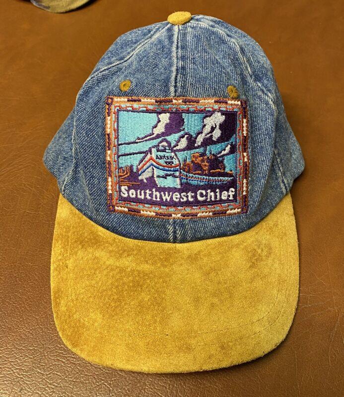 Amtrak Train Vintage Hat Southwest Chief Railway