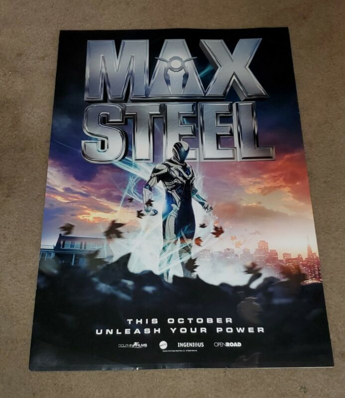 Max Steel 2016 DS 27x40 Movie Poster