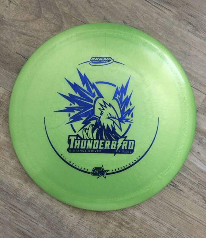 Innova G Star Thunderbird Disc Golf Disc- 167g Overstable Control Driver