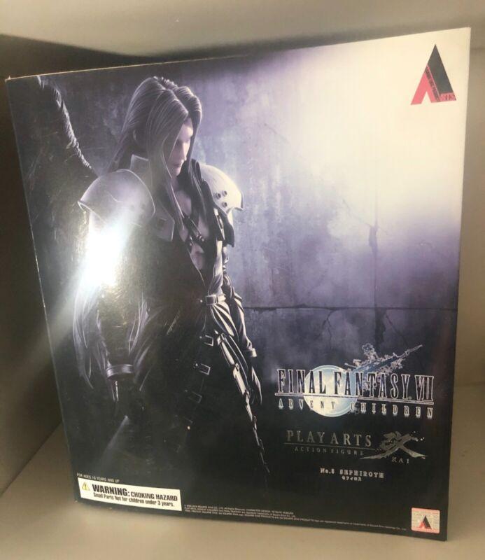 Final Fantasy VII Play Arts Kai Advent Children Action Figure - Sephiroth
