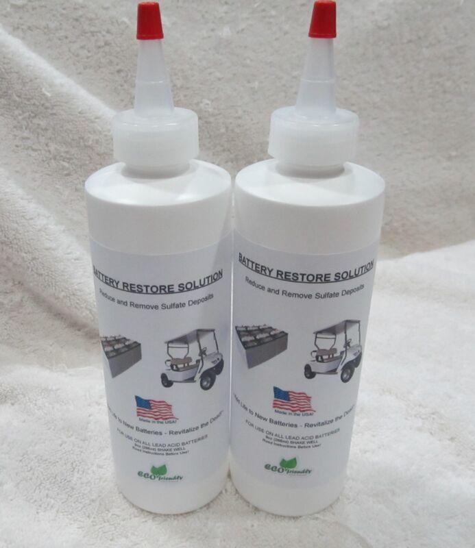 LIQUID BATTERY REPAIR Solution Kit- RESTORE Lead Acid DEEP CYCLE RV, BOAT, SOLAR