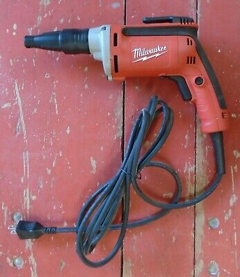 Heavy Duty Drywall Screwdriver 120 Volt 6742-20 Rpm 4000 By Milwaukee