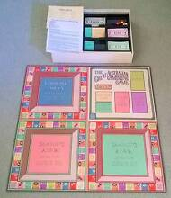 The Great Australian Gambling Board Game -1987 Complete Golden Grove Tea Tree Gully Area Preview