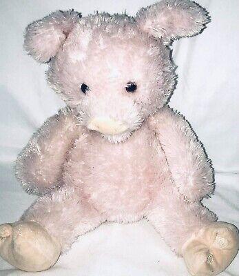 "Baby Gund Little Piggy Plush Stuffed Animal Interactive Talking Pig 12"""