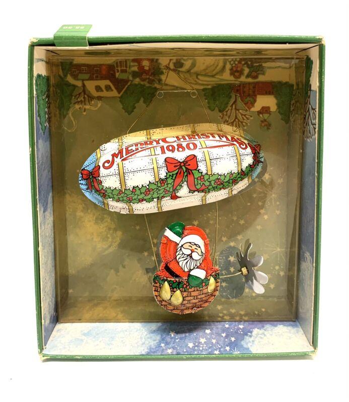 """Hallmark 1980 Keepsake Christmas Ornament """"Santa"""