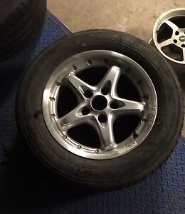 Ford 15 inch csa's rims x 4 Castle Rock Muswellbrook Area Preview