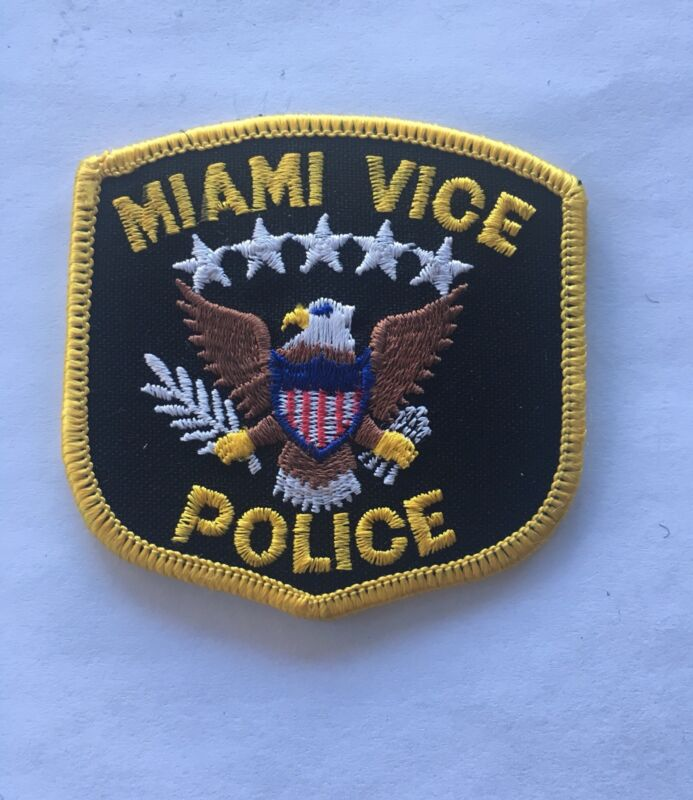 Miami Vice Police Patch