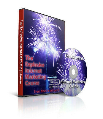 Massive Explosive Internet Marketing Course 15 Ebooks And 50 Videos On Dvd-rom