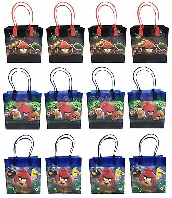 Angry Birds Goody Bag Party Goodie Gift Birthday Candy Bags - Angry Birds Party