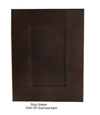Cabinet door, Shaker Espresso, Custom Sizes, cabinets refacing, Wood Doors,