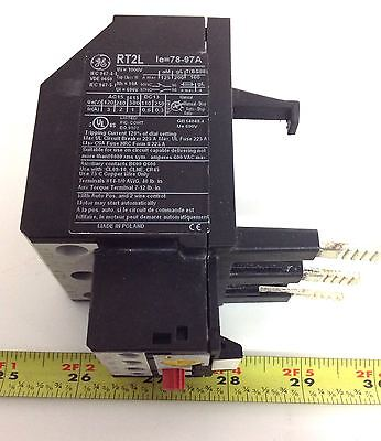 General Electric Overload Relay Rt2l