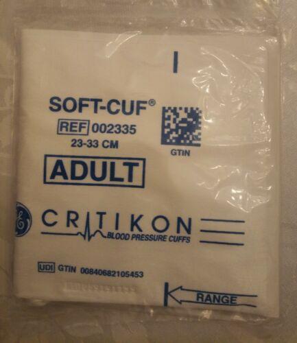 Critikon Soft-Cuf Adult Blood Pressure Cuff REF;002335 GTIN  23-33CM  SFT A2-2A