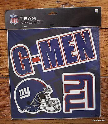 New York Giants Magnet Football Sports Decor Waterproof Superbowl G-MEN ](Superbowl Decor)