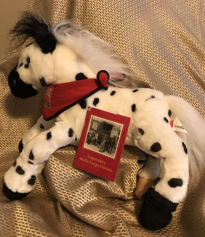 Wells Fargo Legendary Horses series Billy Plush 2003 Toys R Us Exclusive NEW