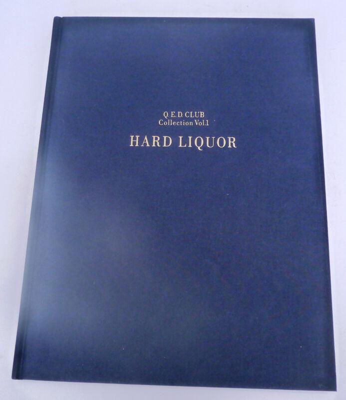 Q.E.D. Club Restrnt Tokyo Japan Hard Liquor ltd. ed. Whiskey Cognac collection