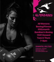 WOMENS BOXING/FITNESS